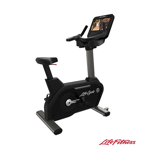 Integrity D Series Lifecycle® Upright Exercise Bike (Life Fitness)