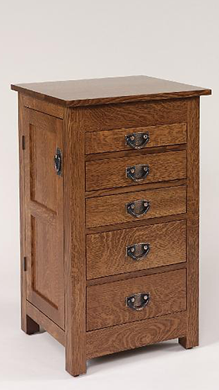 Mission Jewelry Cabinet
