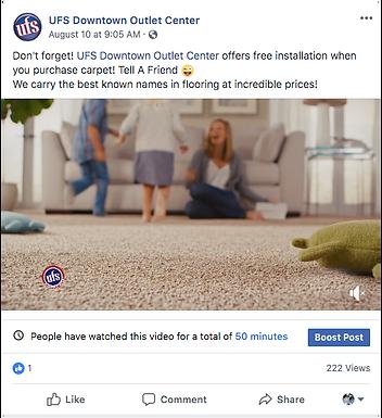 UFS Free Carpet Installation video