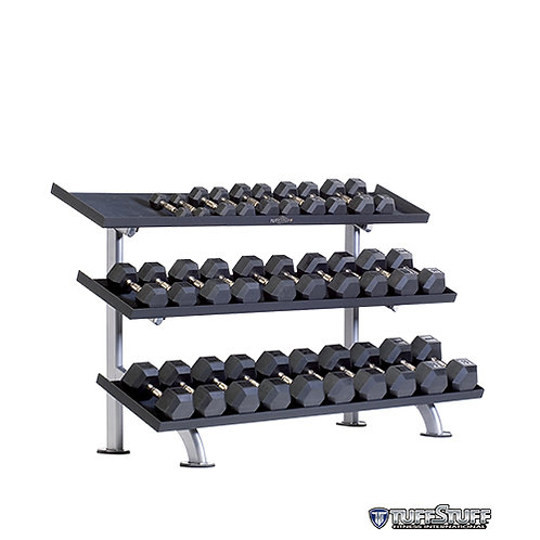 PPF-754T 3-Tier Tray Dumbbell Rack (TuffStuff)