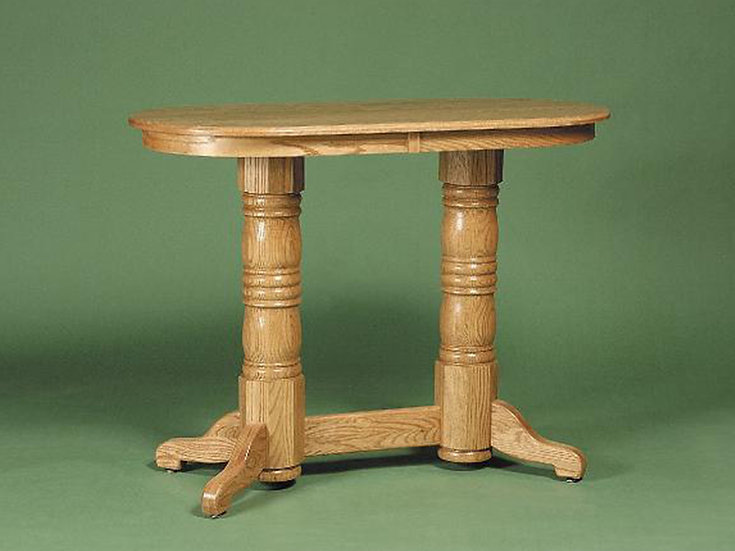 Country Oval Pub Table