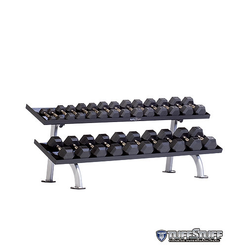 PPF-752T 2-Tier Tray Dumbbell Rack (TuffStuff)