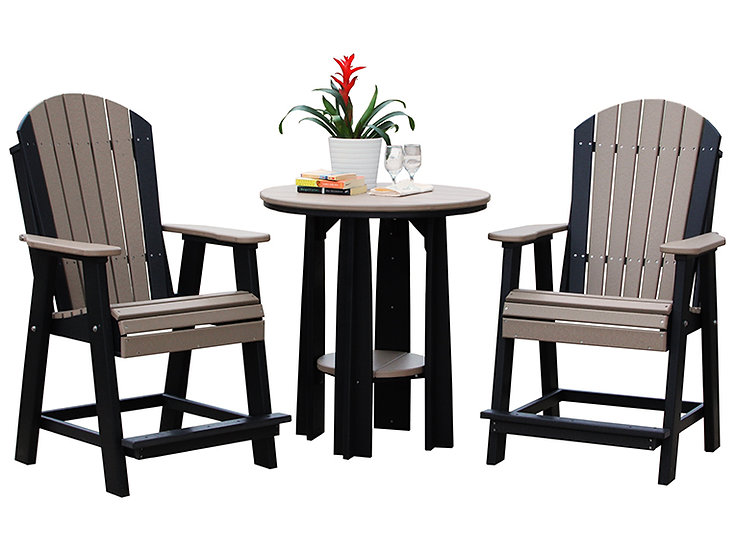 Poly Balcony Table and Chairs
