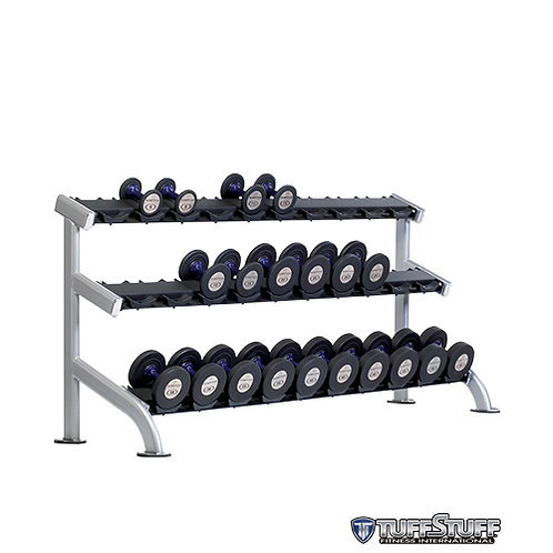 PPF-754 3-Tier Saddle Dumbbell Rack (TuffStuff)