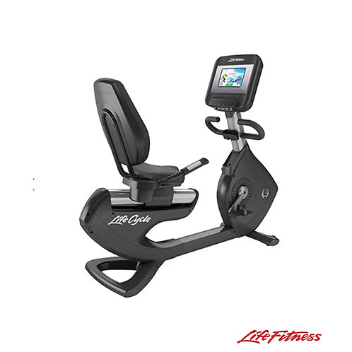 Platinum Discover SI Recumbent Cycle (Life Fitness)