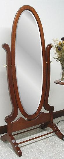 CCR Victorian Oval Cheval Mirror