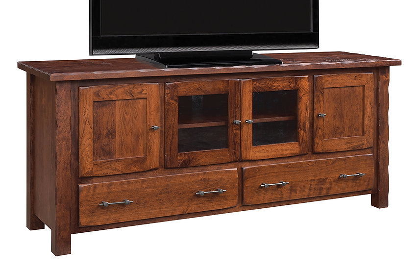 Hand Hewn TV Stand by Ashery