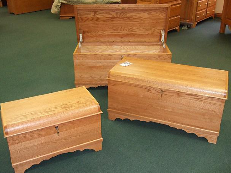 Waterfall Cedar Chests