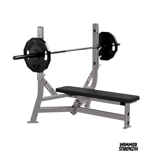 Hammer Strength Olympic Flat Bench (Life Fitness)
