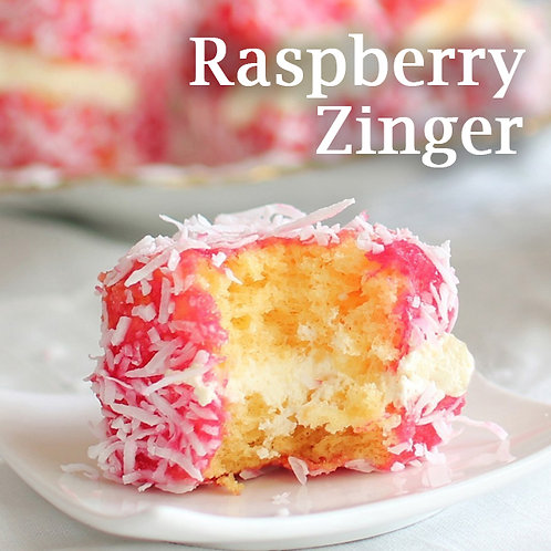 Raspberry Zinger Jar Candle