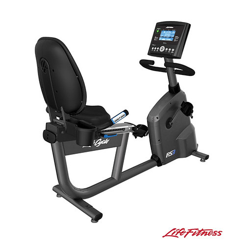 RS3 Lifecycle Exercise Bike w/ Go Console (Life Fitness)