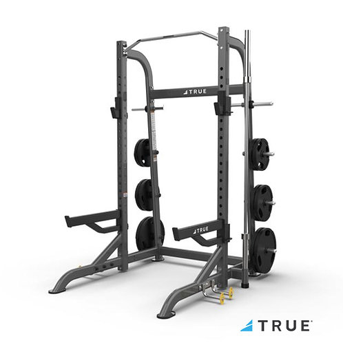 XFW-8100 Half Rack with Plate Holders (True Fitness)