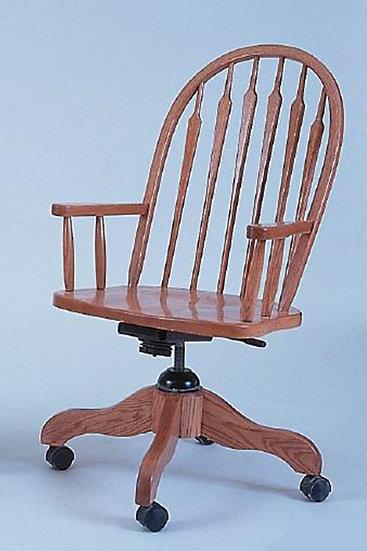 High Feather Arm Desk Chair