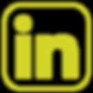 yellow LinkedIn logo