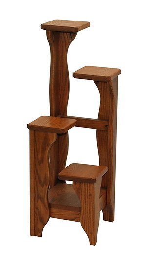 4 Tiered Plant Stand by Carlisle Oak