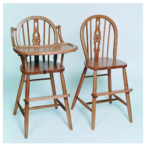 Windsor Youth Chair And High Chair