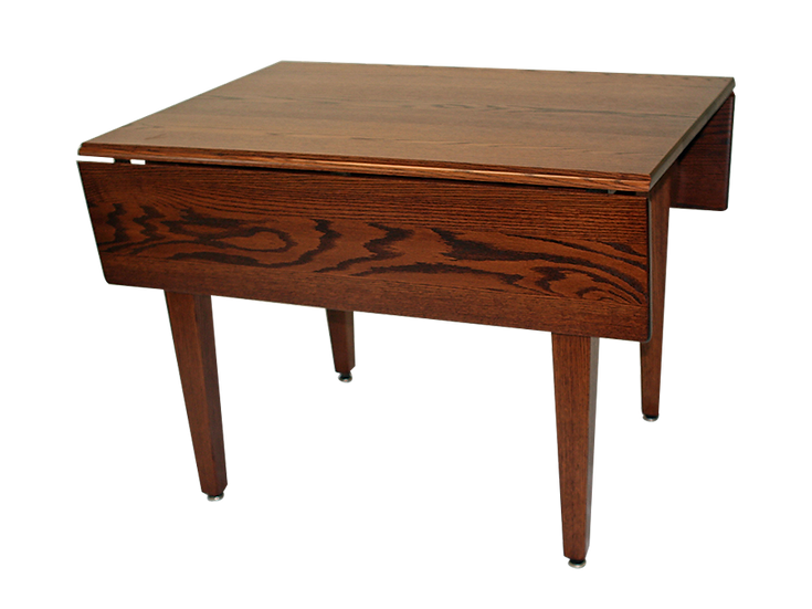 Solid Top Drop Leaf with Shaker Legs by Country View Oak