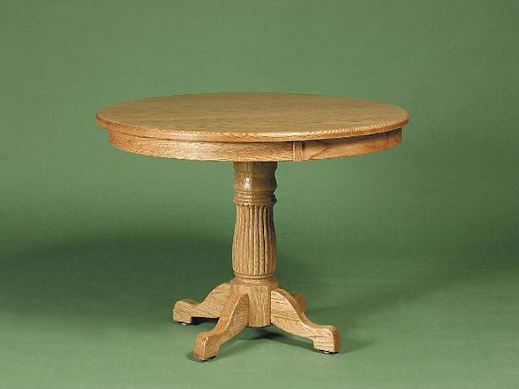 Heritage Round Game Table