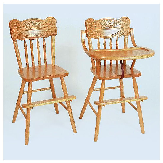 Sunburst Youth Chair and High Chair