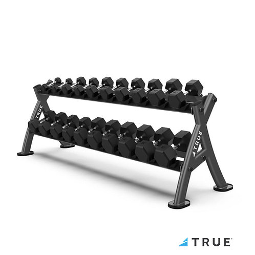 XFW-4700 Dumbbell Rack (True Fitness)