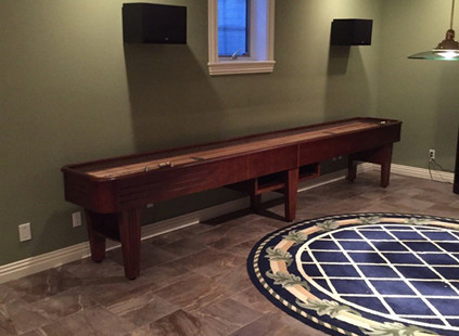 Brunswick Andover Oak Shuffleboard