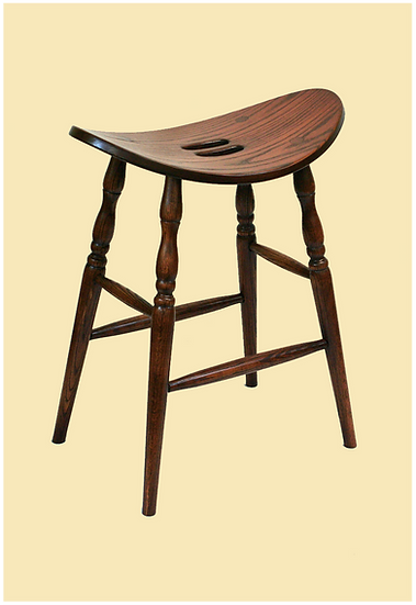 Saddle Seat Bar Stool by Oakland