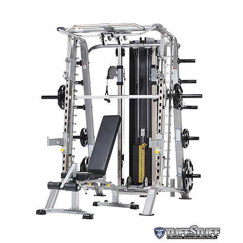 CSM-725WS Smith Machine/Half Cage Ensemble (TuffStuff)
