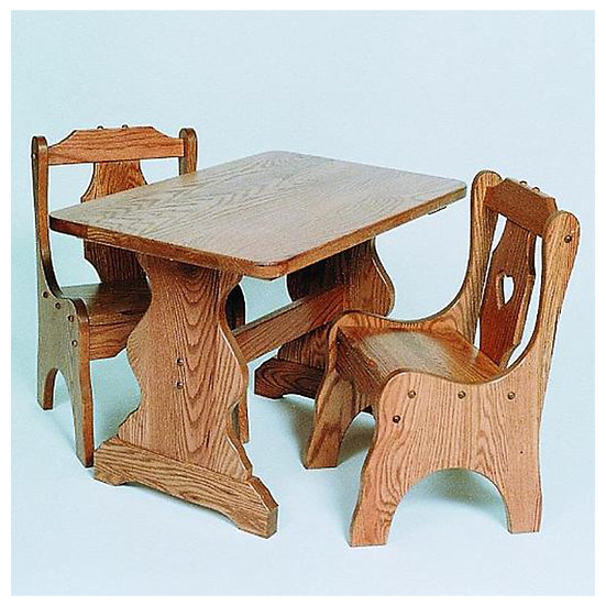 Childs Table with Childs Chairs