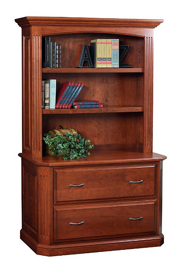 Buckingham Lateral File with Hutch