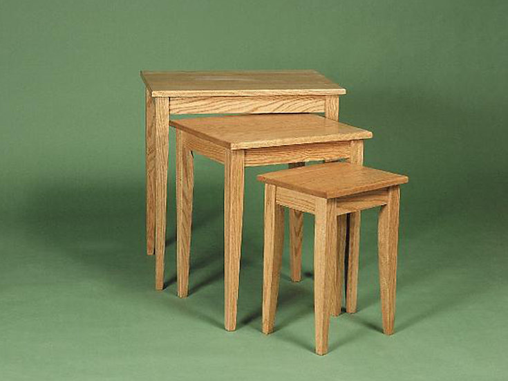 Shaker Nesting Tables