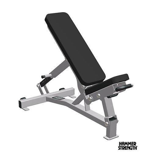 Hammer Strength Multi Adjustment Bench (Life Fitness)