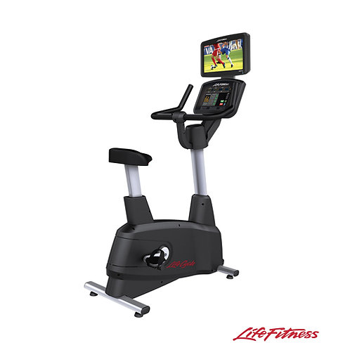 Activate Series Lifecycle® Upright Exercise Bike (Life Fitness)