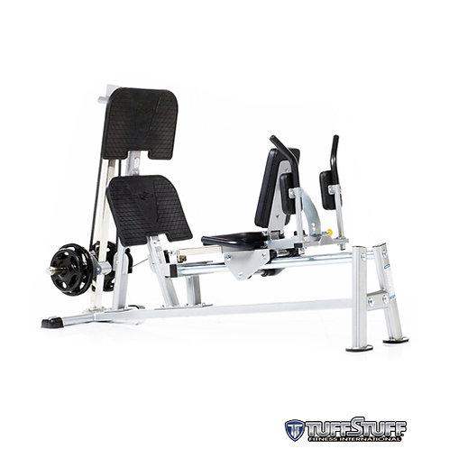 CLH-300 Horizontal Plate Load Leg Press/Hack Squat (TuffStuff)