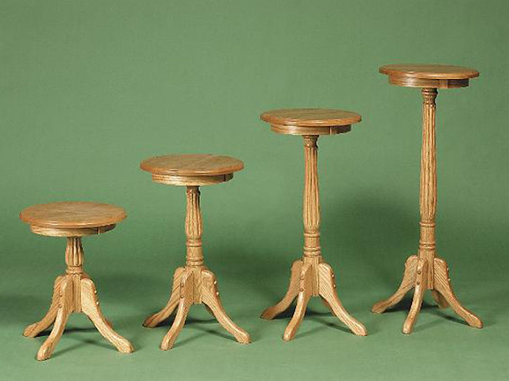 Fluted Plant Stands