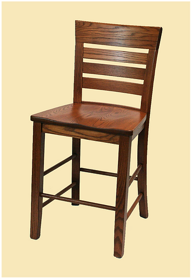 Metro Ladder Bar Chair by Wengerd