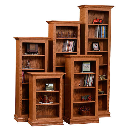 Wide Traditional Bookcases