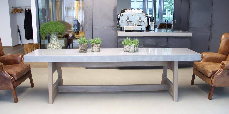 Concrete Dining Room or Conference Table