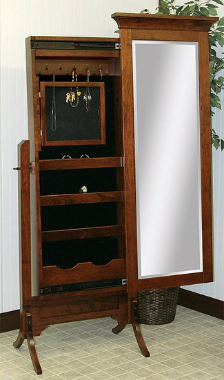 CCR Arlington Jewelry Box Cheval Mirror