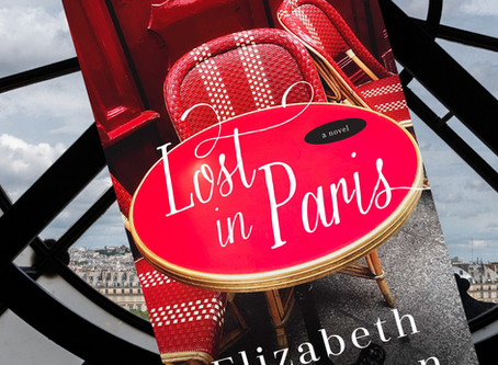Win One of **40** Advanced Reader's Copy of LOST IN PARIS