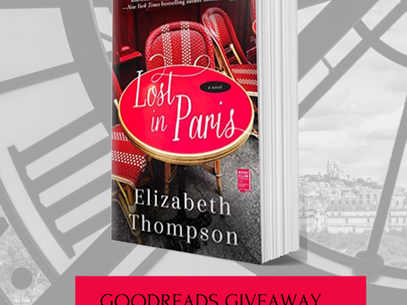 Win One of 50 Advance Reading Copies of LOST IN PARIS