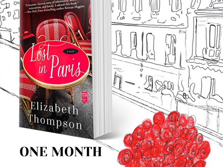 One Month Until You Can Get LOST IN PARIS