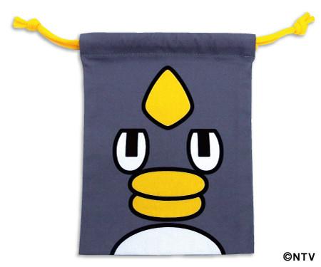 くもジローフェイス巾着(¥650円+税)