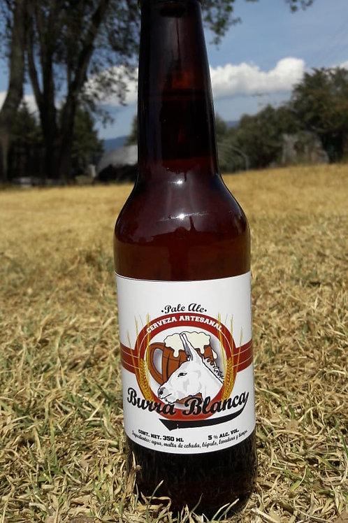 """Cerveza Pale Ale  """"Burra Blanca"""" 355 ml 100 % Artesanal"""