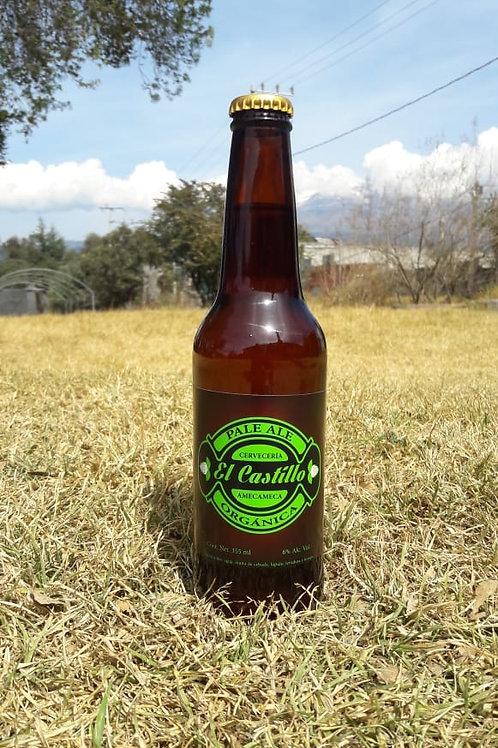 "Cerveza Pale Ale  ""El Castillo"" 355 ml 100 % Artesanal"