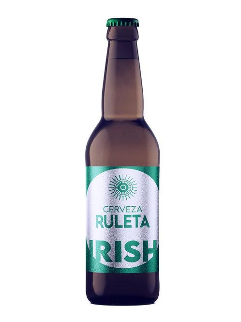 "Cerveza Ruleta Ale ""Irish"" 355 ml 100 % Artesanal"
