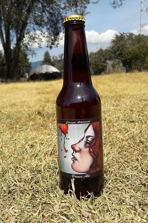 Cerveza Brown Ale El Castillo 355 ml 100 % Artesanal