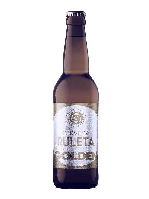 "Cerveza Ruleta Ale ""Golden"" 355 ml 100 % Artesanal"