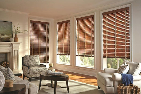 brown-wood-blinds-in-living-room-wooden-