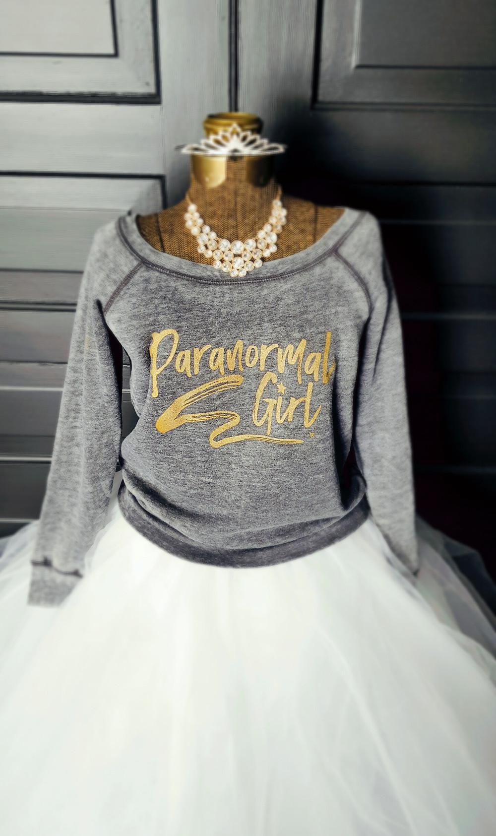 Paranormal Girl Rockstar Sweatshirt
