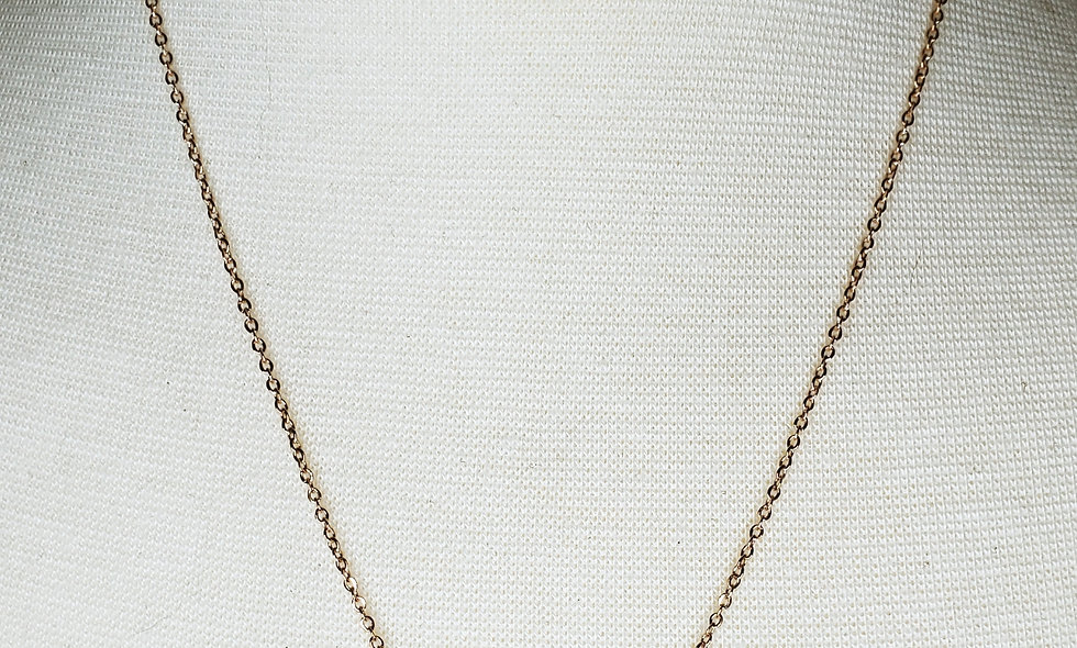 Rose-Gold Plated, Paranormal Girl Name Bar